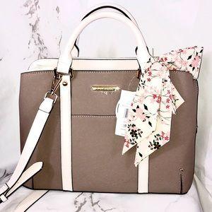 NWT Steve Madden delta taupe multi purse bag